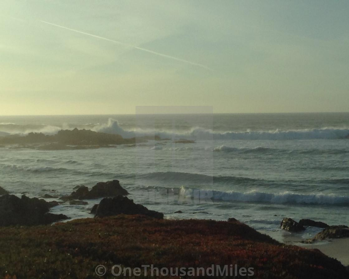 """Hwy 1 Dreamy California Coast (8x10) Road Trip To Big Sur"" stock image"