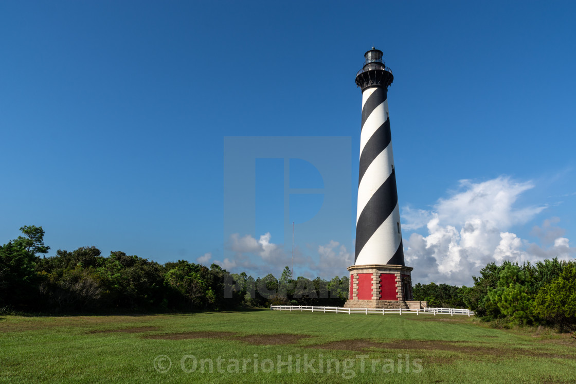 """""""Cape Hatteras Lighthouse"""" stock image"""