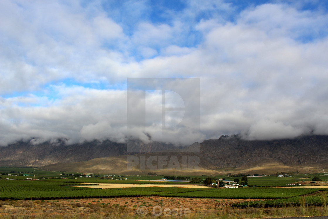 """Hex River Valley"" stock image"