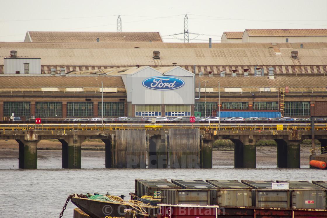 """""""Ford factory Dagenham"""" stock image"""
