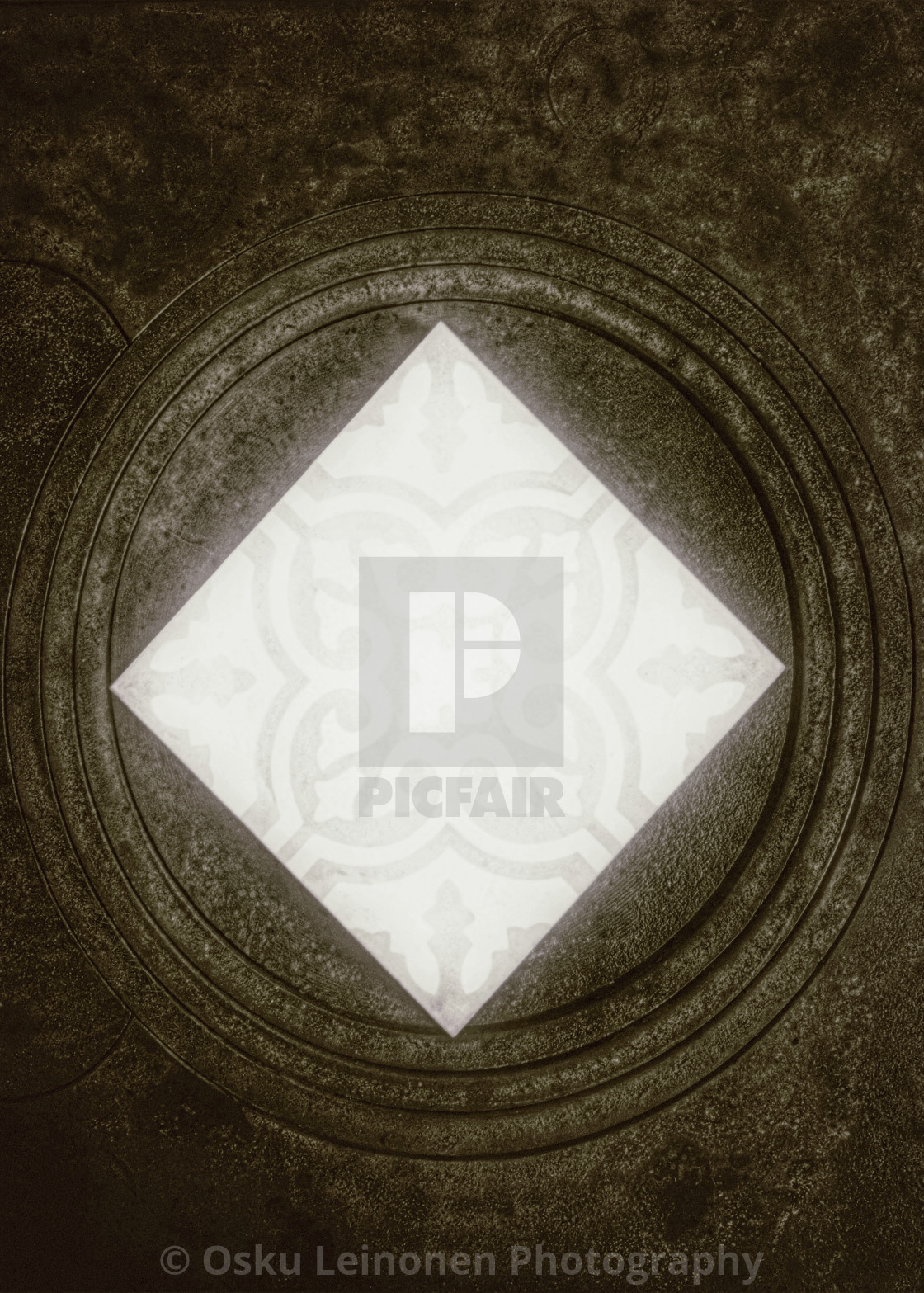 """Rustic Diamond (Coal)"" stock image"