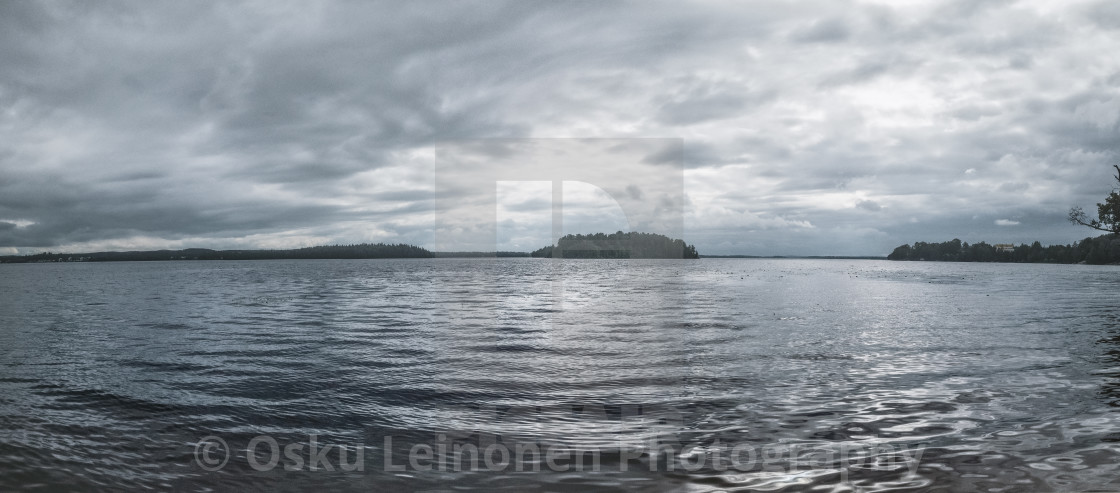 """""""Lake Holy In August"""" stock image"""