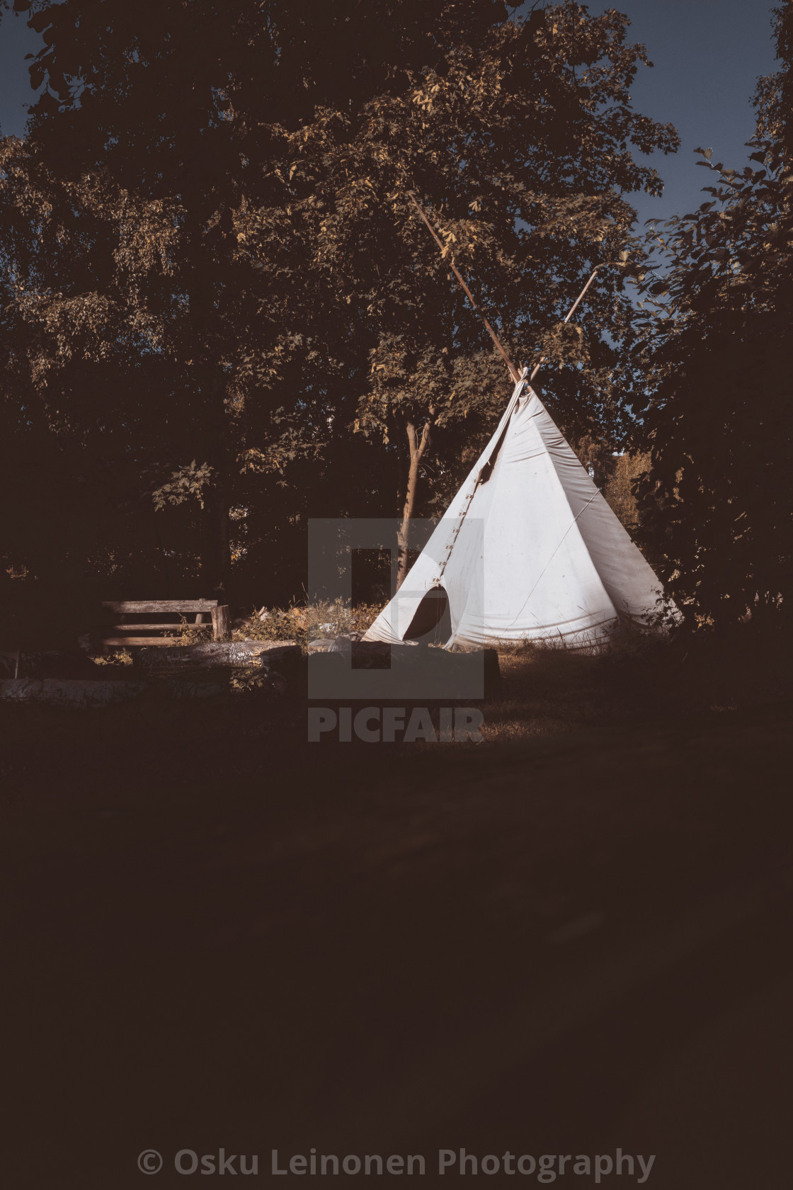 """Tent (Tipi)"" stock image"