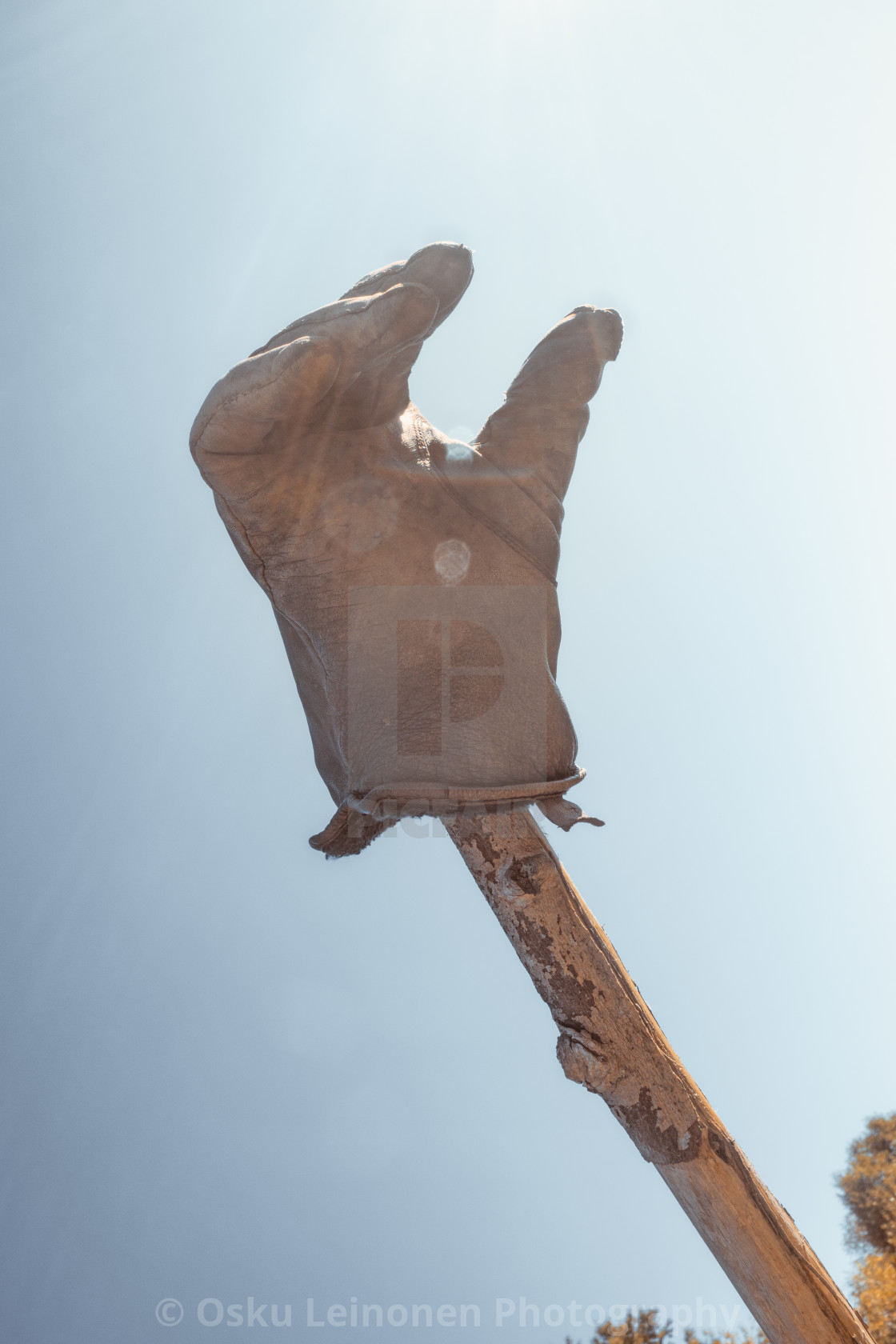 """Glove I"" stock image"