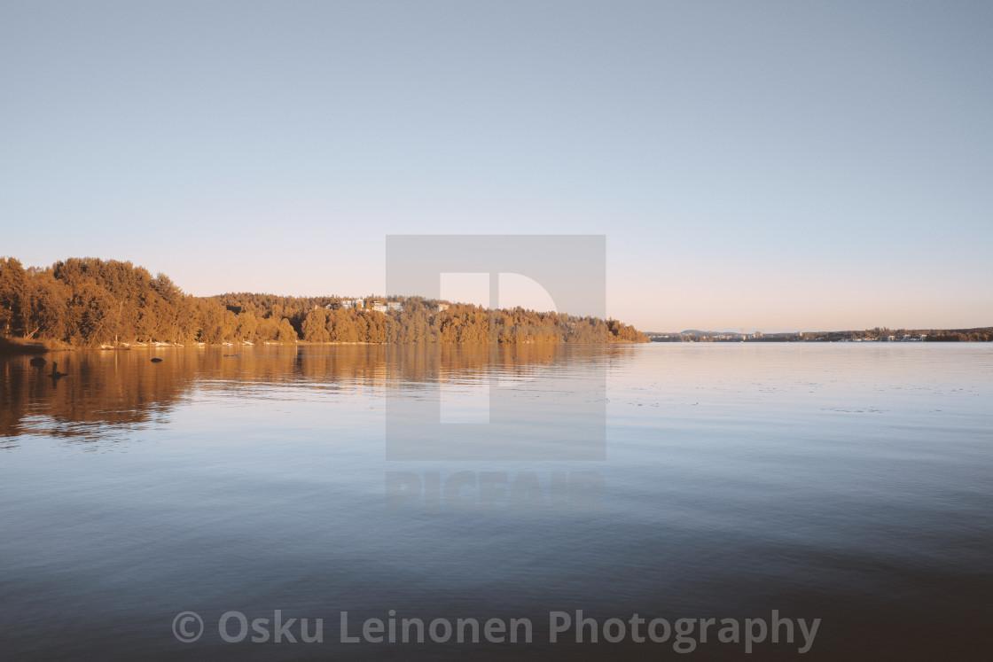 """Autumn Shore I"" stock image"