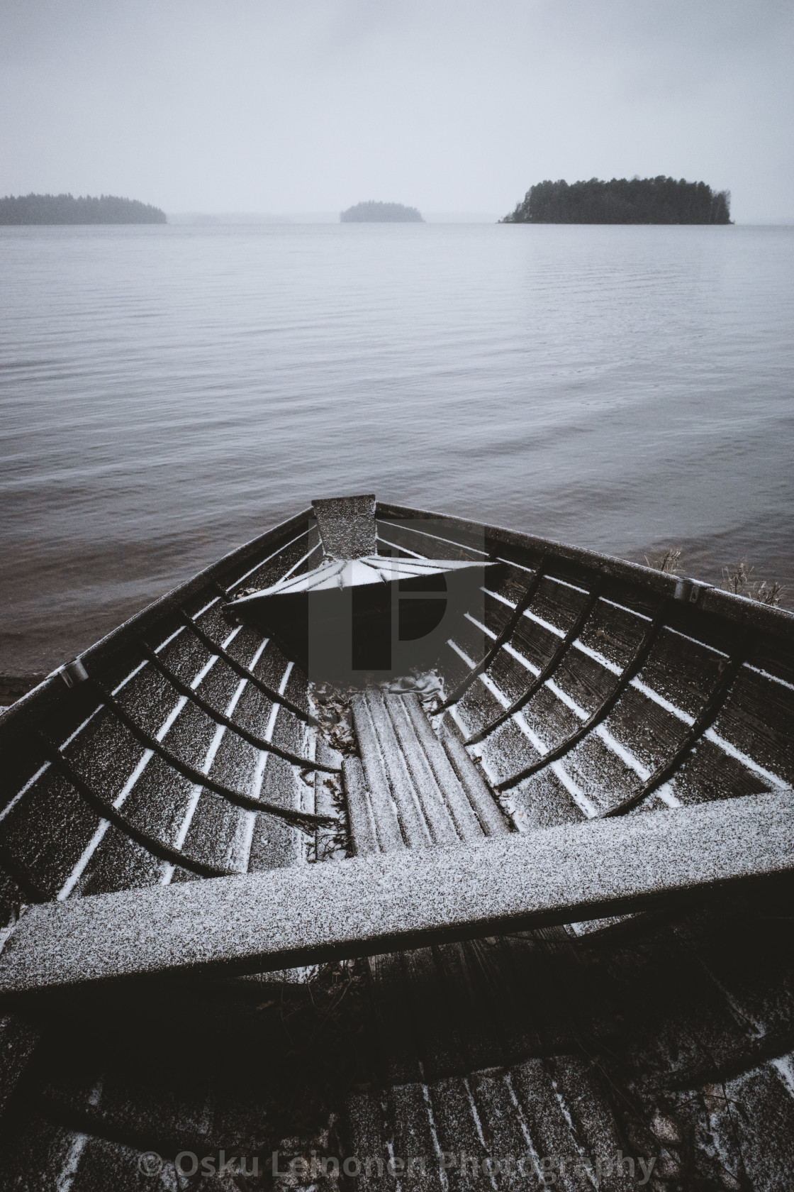 """Waiting For An Adventure V (Wooden Rowing Boat)"" stock image"