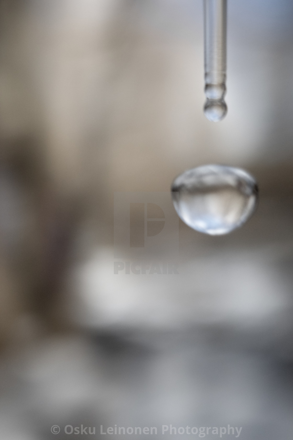 """""""Water Cycle I (Bygone Spa)"""" stock image"""
