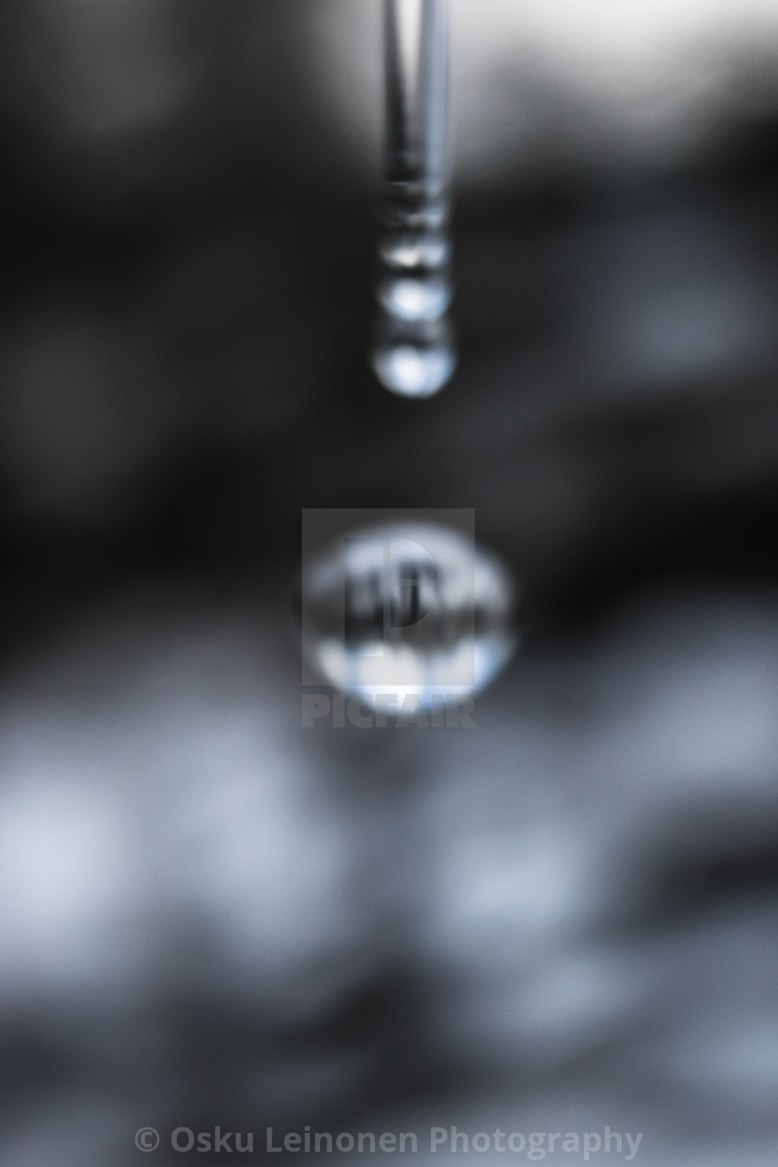 """""""Water Cycle XIV (Bygone Spa)"""" stock image"""