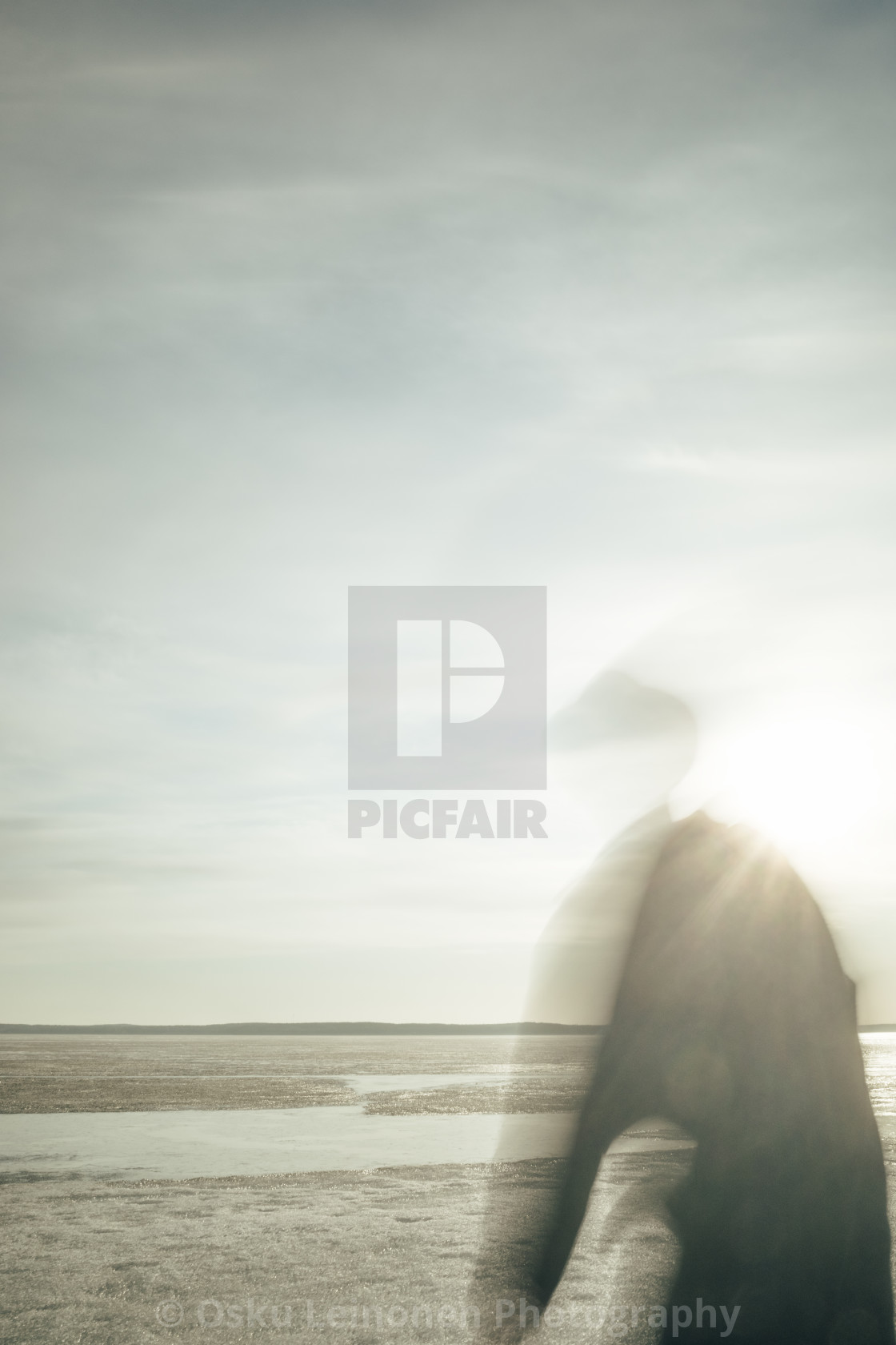 """Steps Together With Sun III (Feeling Gravity)"" stock image"