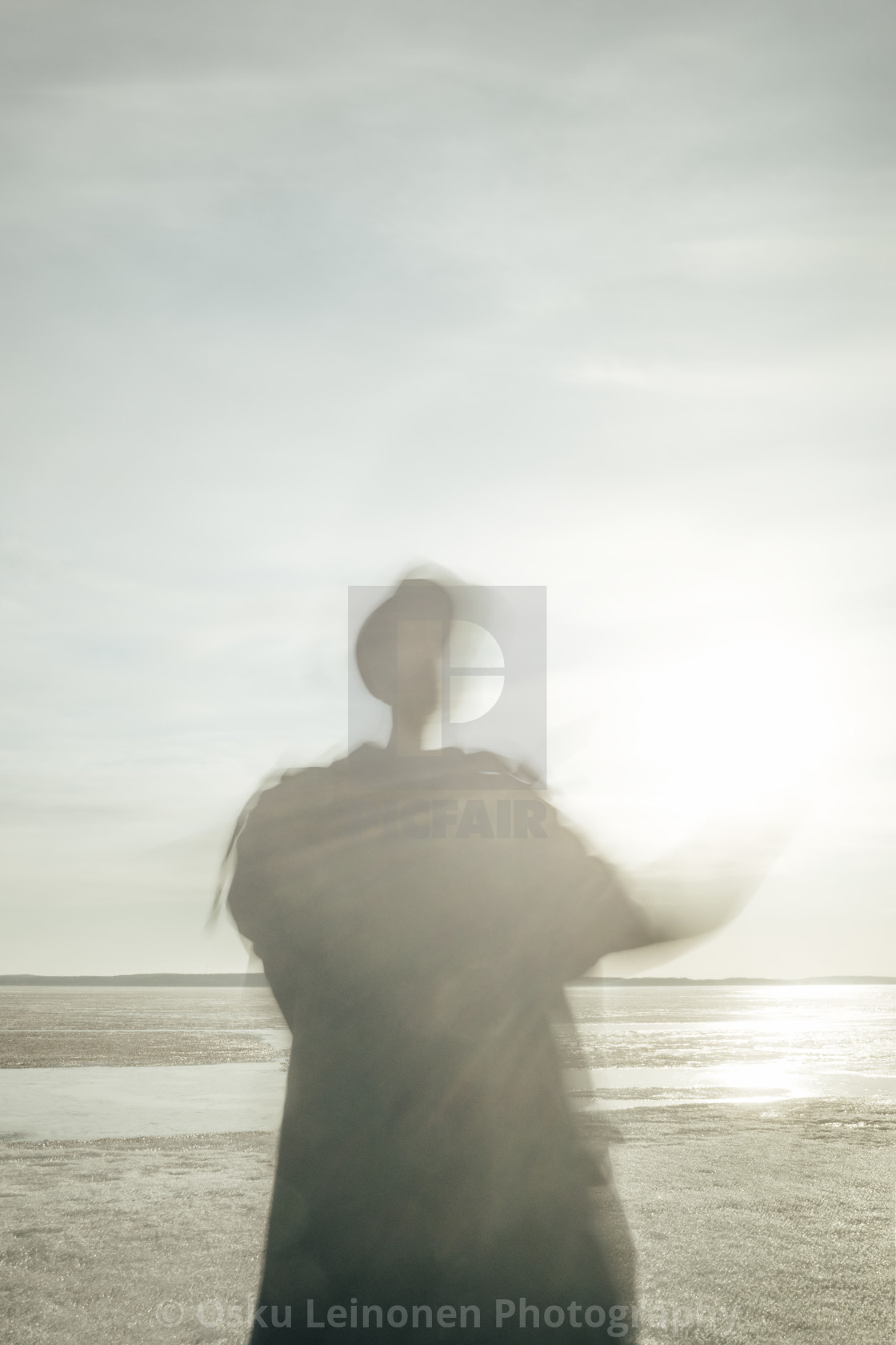 """Steps Together With Sun IV (Holding Sun)"" stock image"