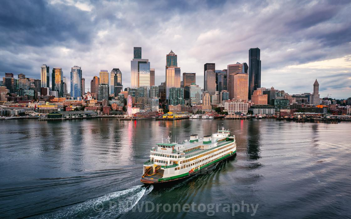 """""""Seattle, Washington"""" stock image"""