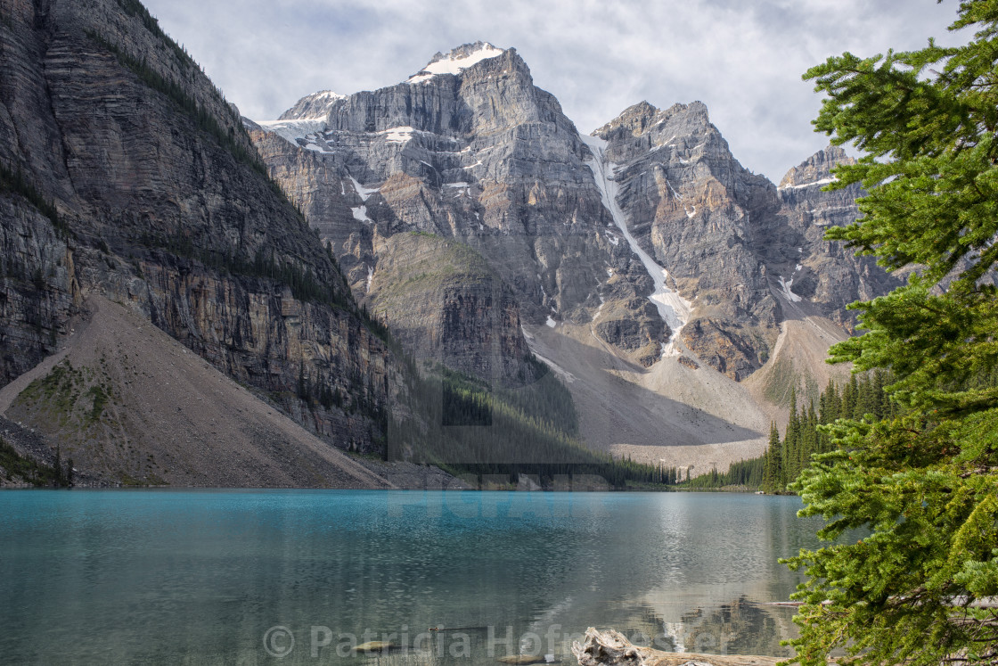 """Lake Moraine view"" stock image"