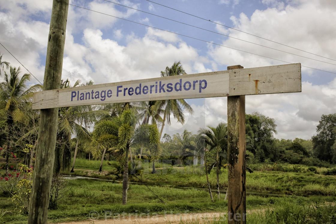 """Plantage Frederiksdorp"" stock image"