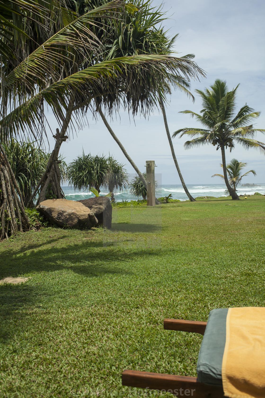 """Resort near the ocean"" stock image"