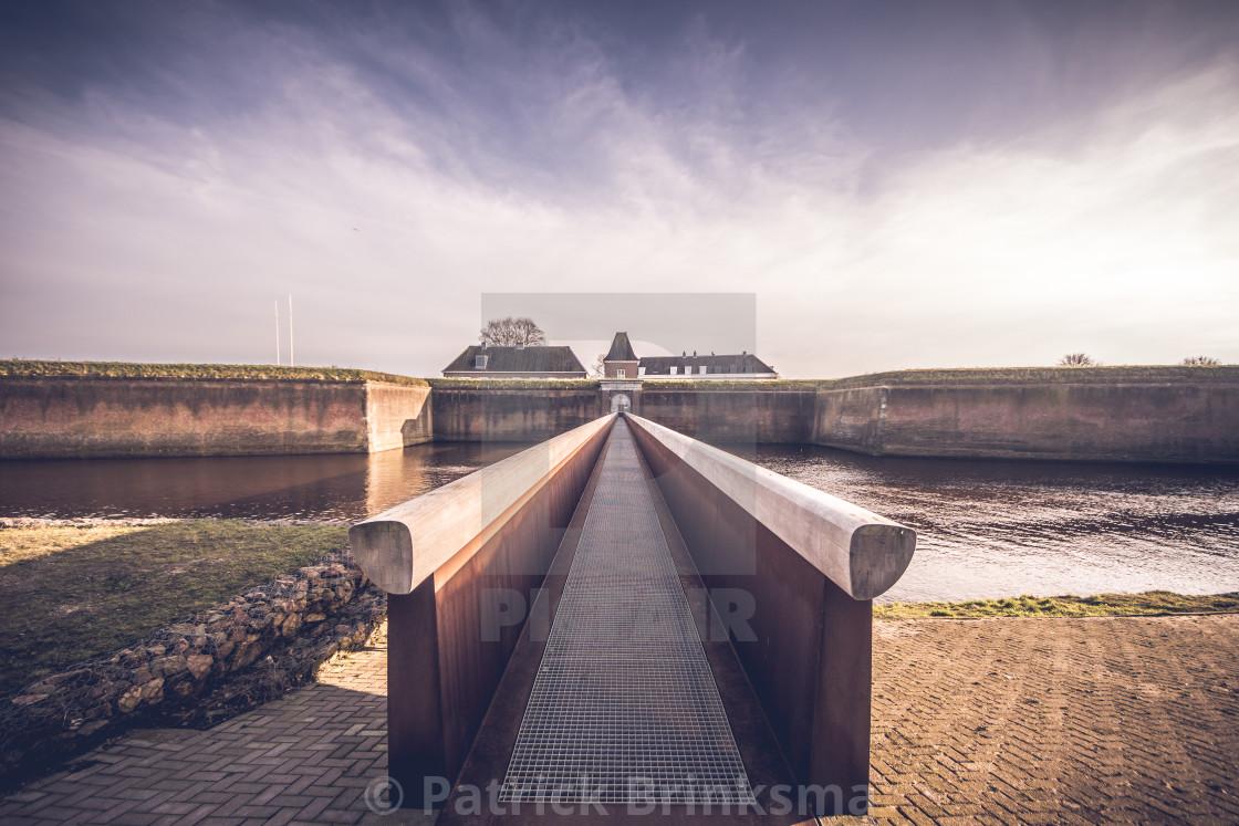 """""""Sortiebrug in 's-Hertogenbosch"""" stock image"""