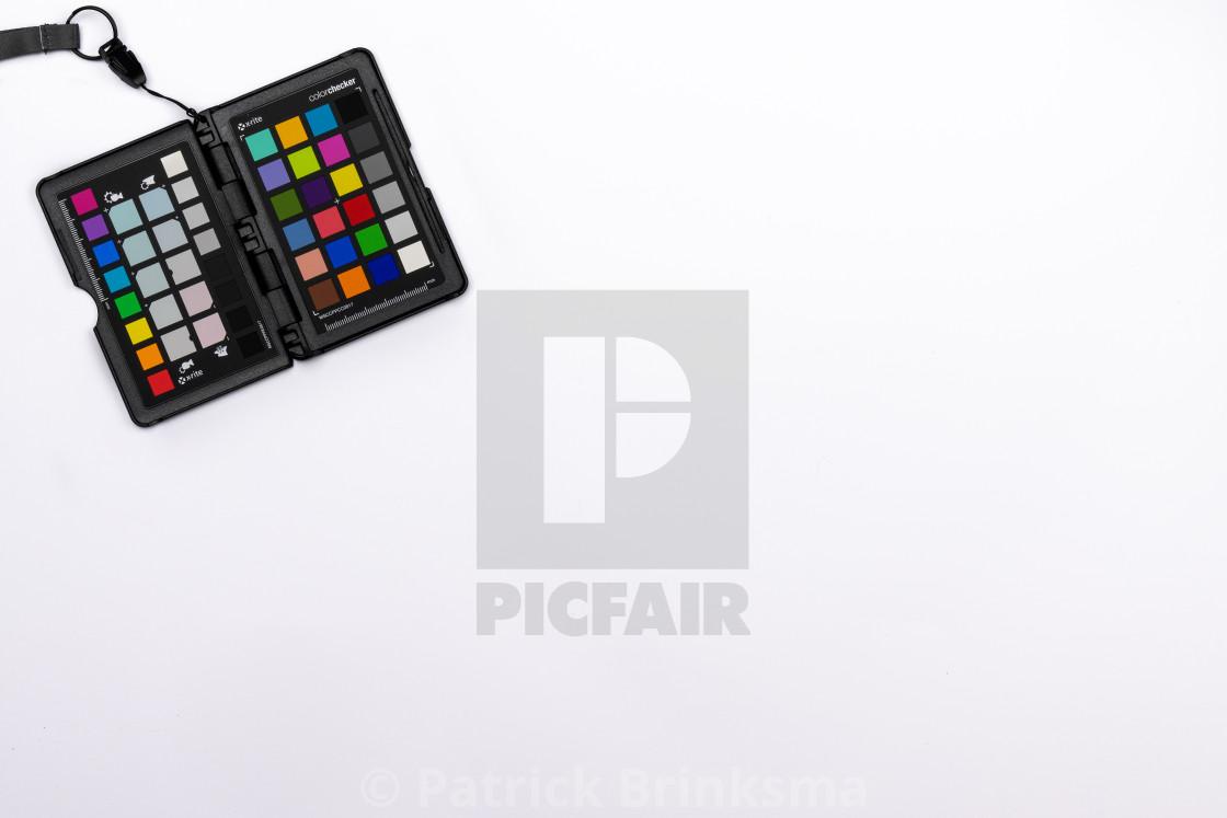 """Photography Colorchecker Passport"" stock image"