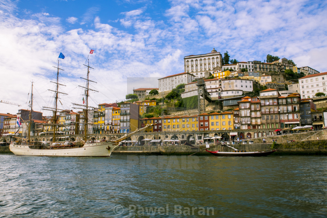 """Porto Old Town II"" stock image"
