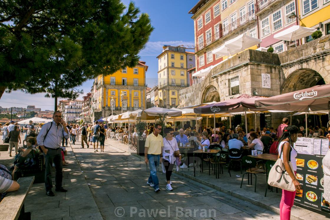 """""""Porto Old Town"""" stock image"""