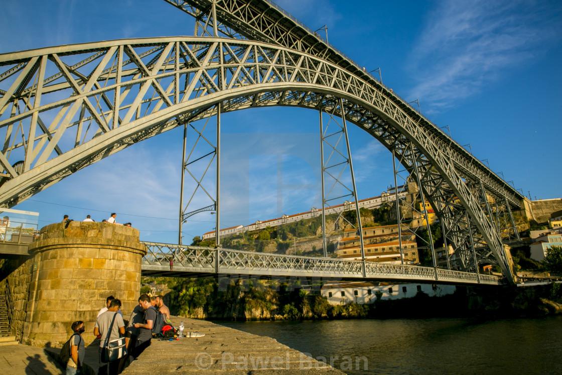 """Ponte Luis - Porto"" stock image"