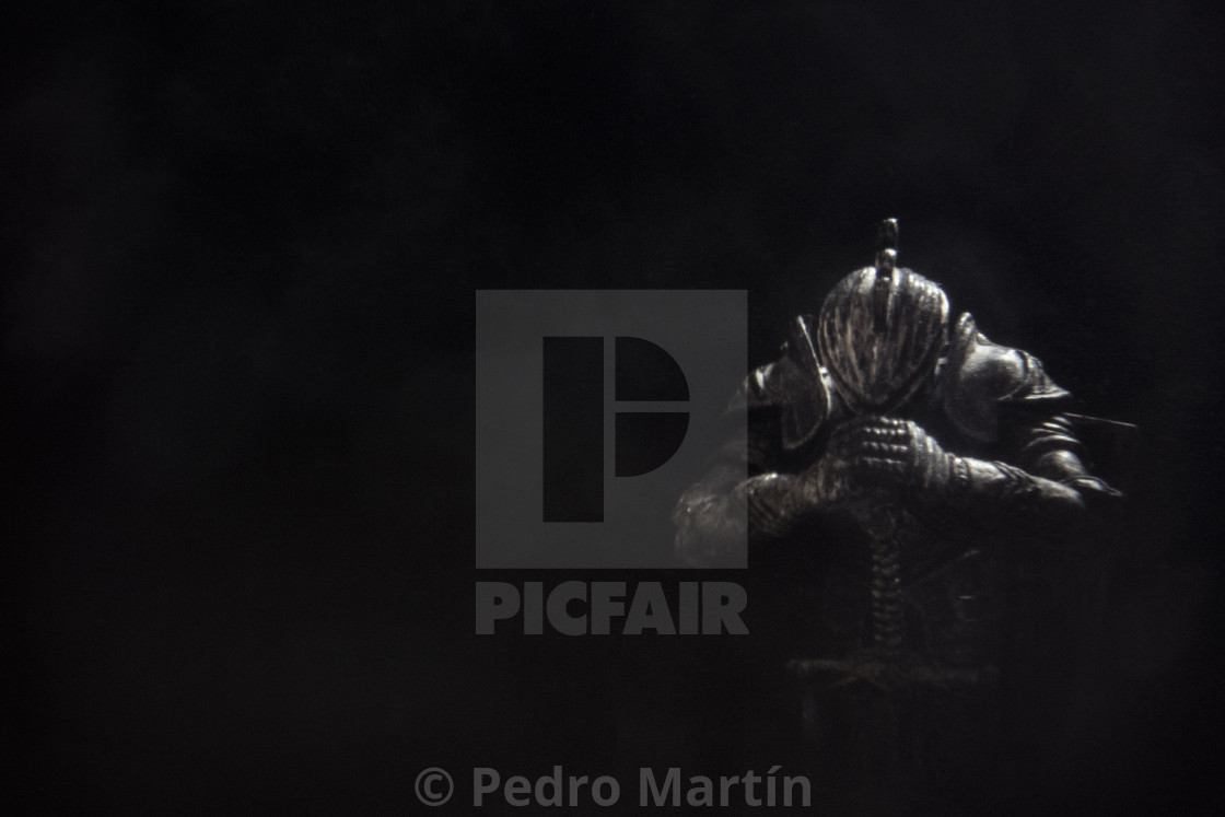 """Chess figure of the king"" stock image"