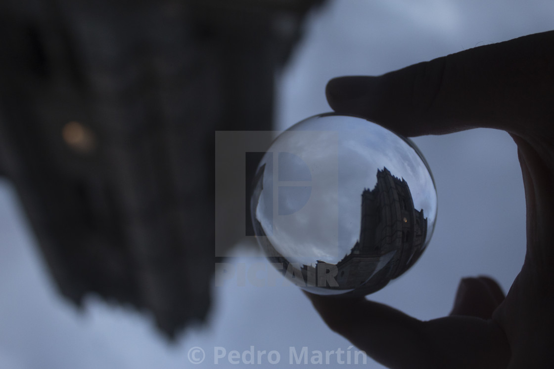 """""""Tower of the Cathedral of Avila"""" stock image"""