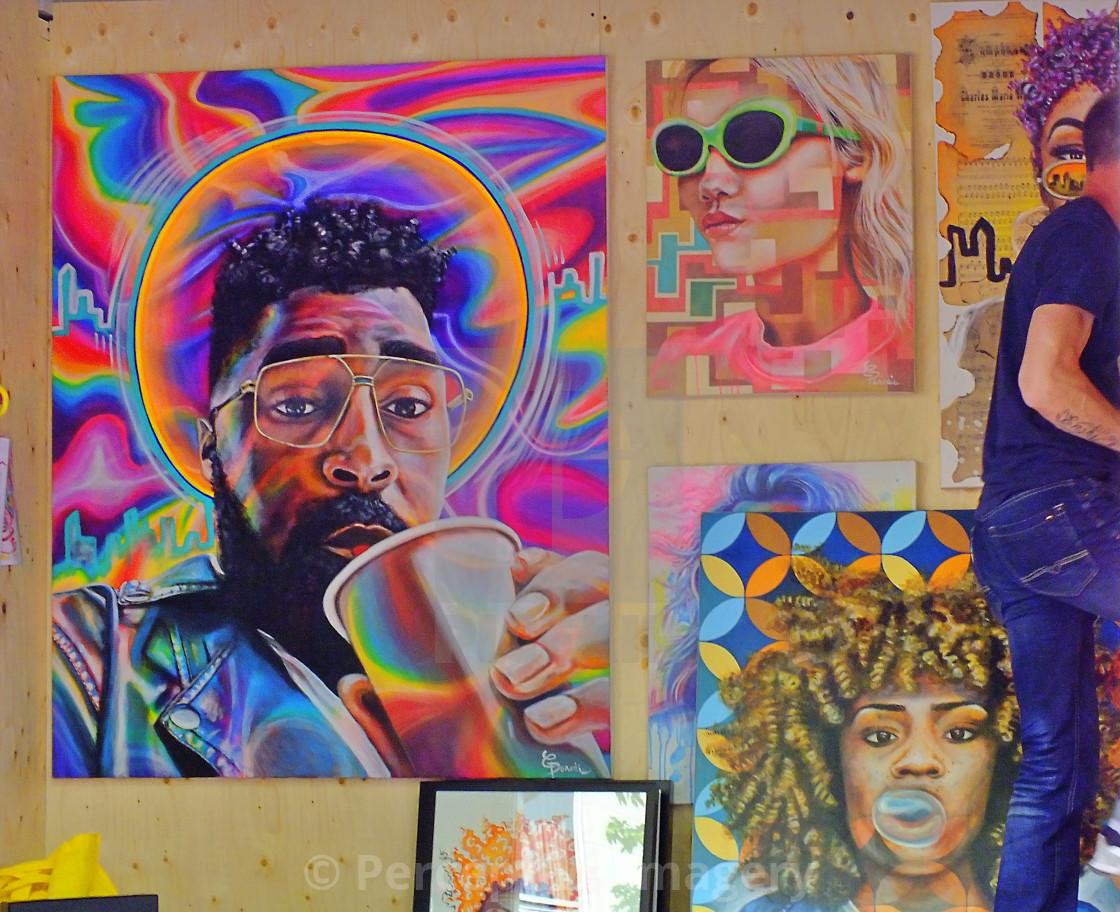 """""""Mural Fest"""" stock image"""