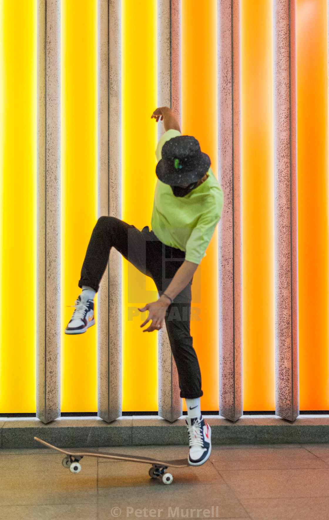 """The Skater"" stock image"