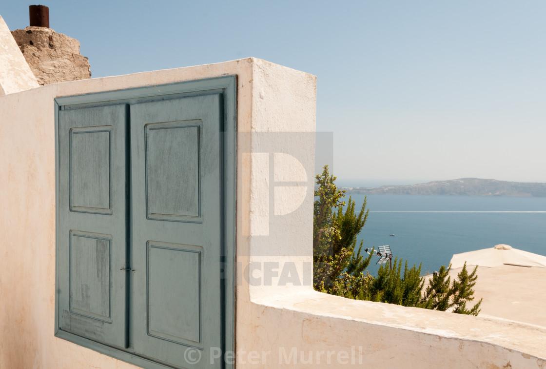 """""""Thira Santorini"""" stock image"""