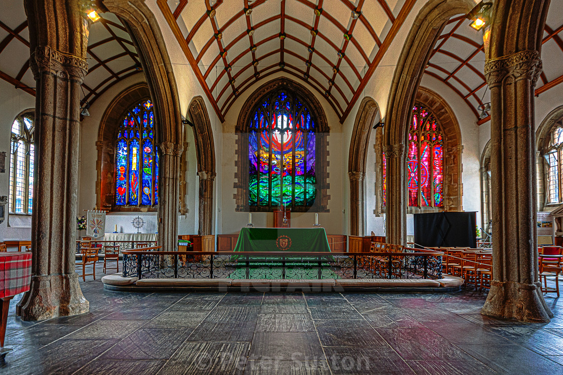 """""""The High Altar"""" stock image"""