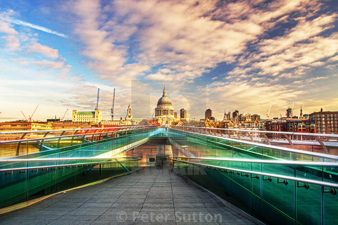 """A London Skyline"" stock image"