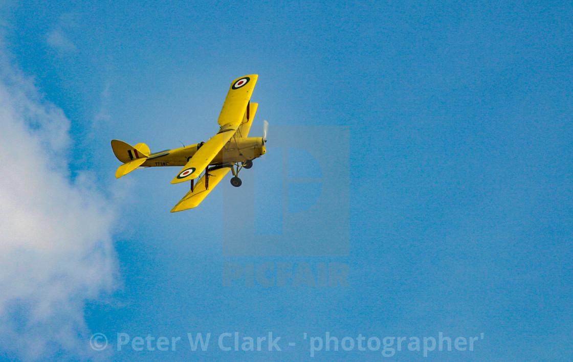 """de Havilland Tiger Moth II"" stock image"