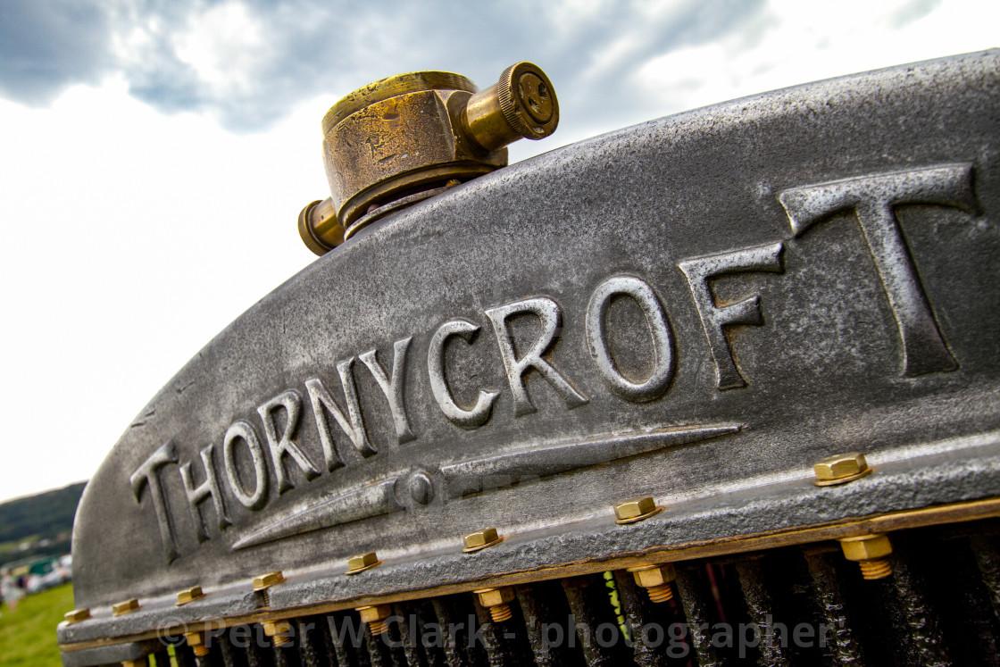 """Thornycroft Wagon on display at 2012 Vintage Transport Extravaganza"" stock image"