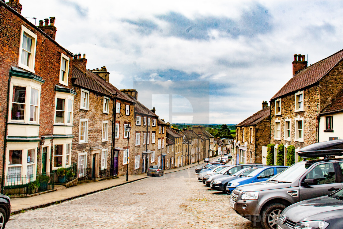 """Frenchgate, Richmond, North Yorkshire."" stock image"