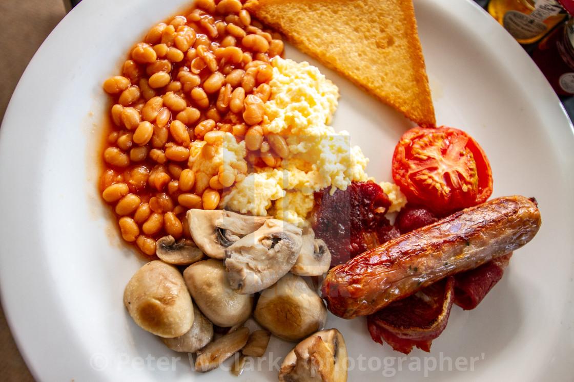 """English Breakfast."" stock image"