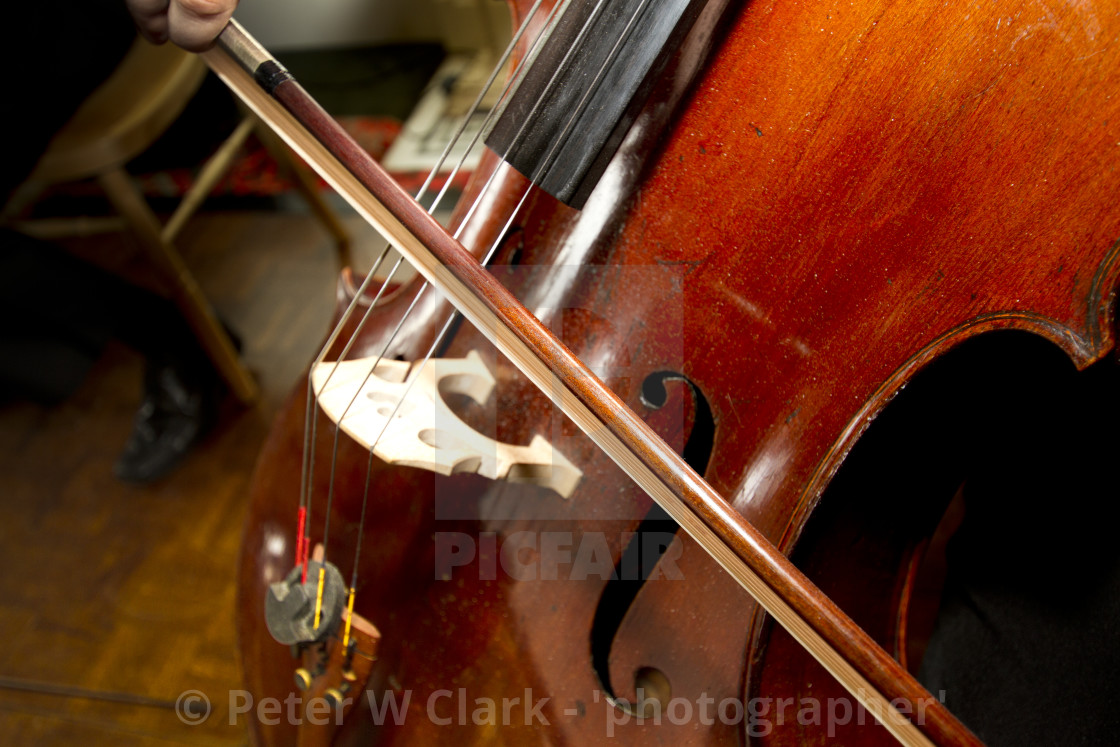 """Playing the Cello"" stock image"