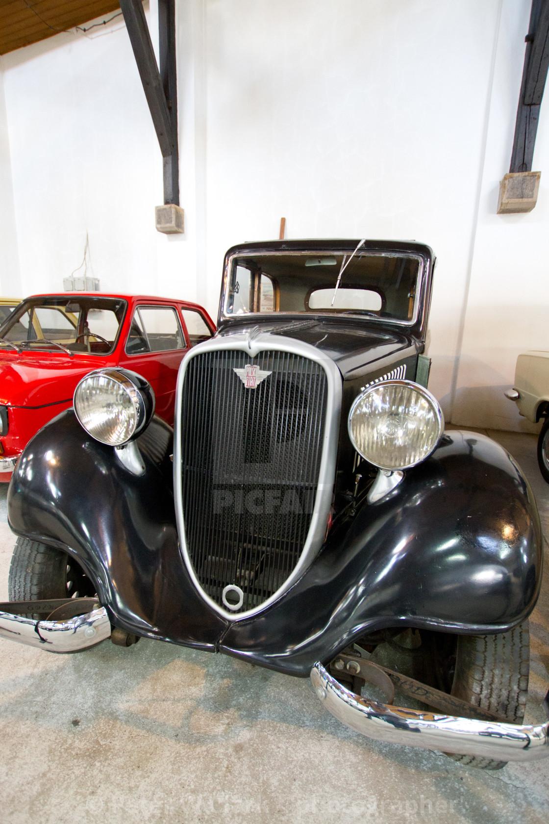 """Pre War Polski Fiat 508"" stock image"