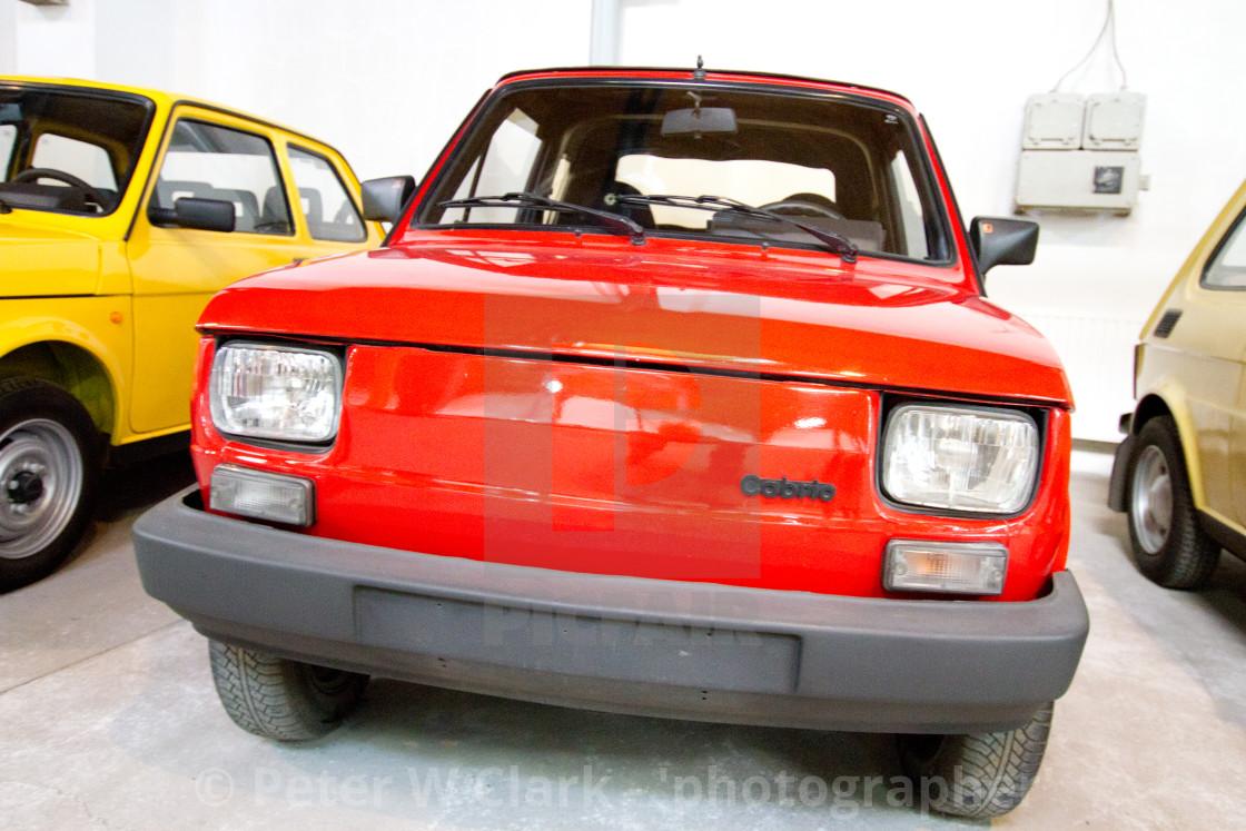 """Polski Fiat 126p Cabrio"" stock image"