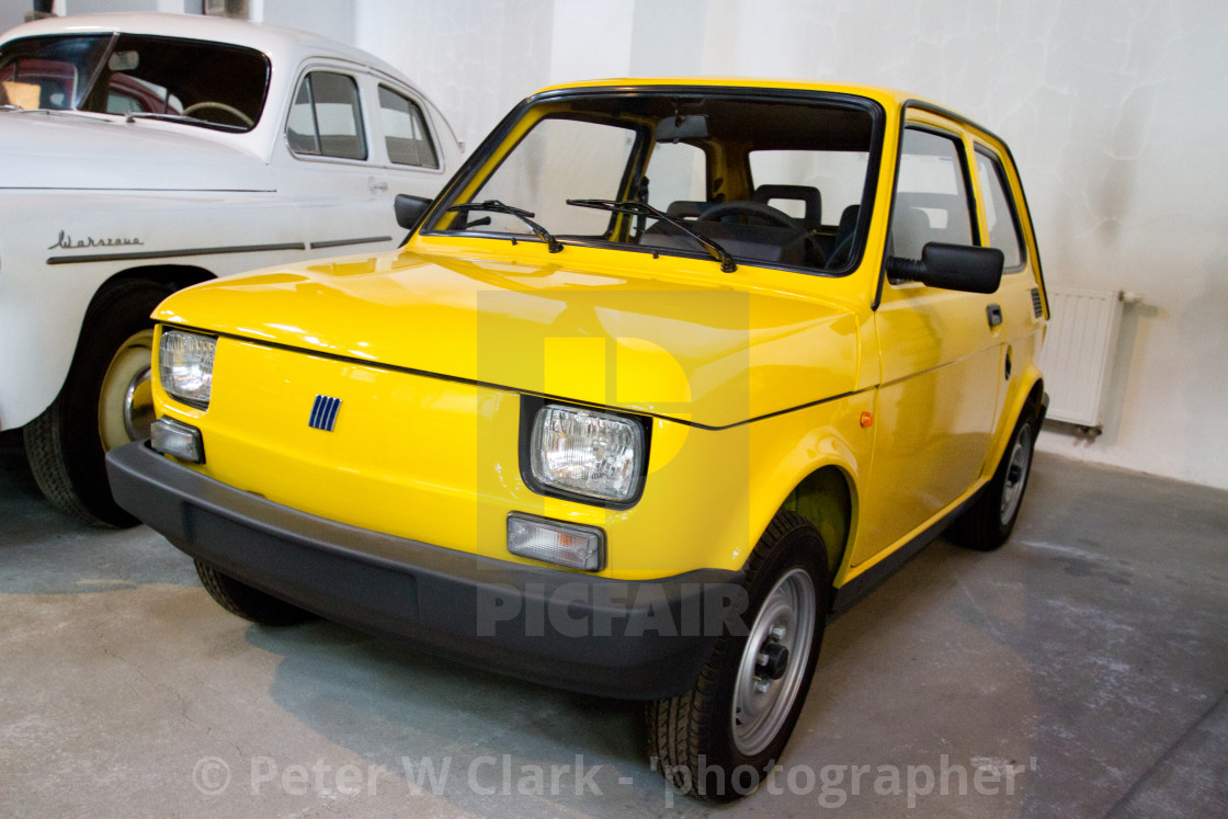 """Polski Fiat 126p (Maluch)"" stock image"
