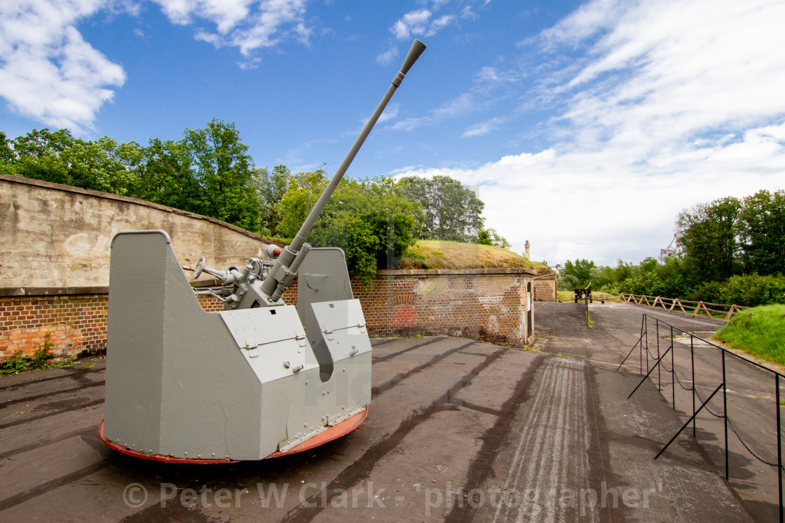 """""""Swinoujscie, Photographs of the Defensive Forts and their Contents."""" stock image"""