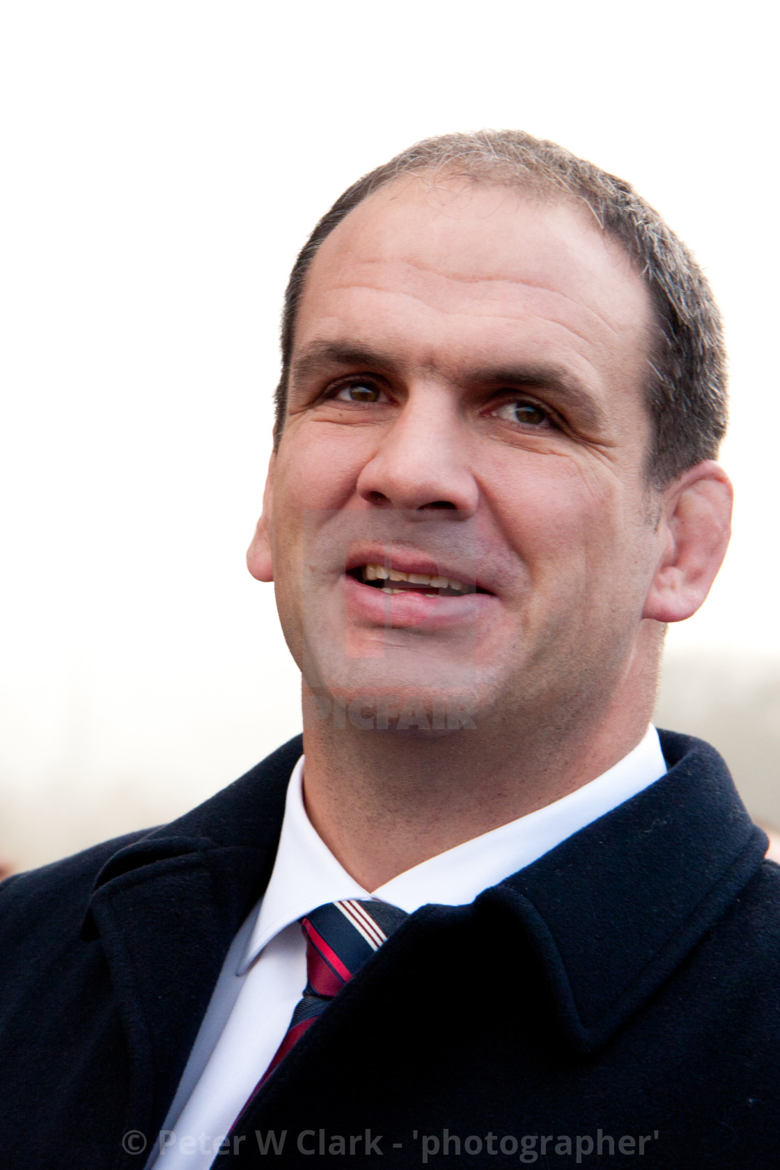 """Inspirational' Ex Captain of England Rugby Union Team Martin Johnson CBE. Photographed 19/11/2011"" stock image"