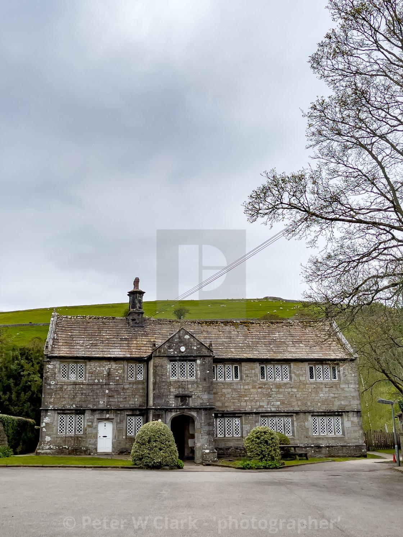 """Burnsall Primary School, Yorkshire Dales, England, UK."" stock image"