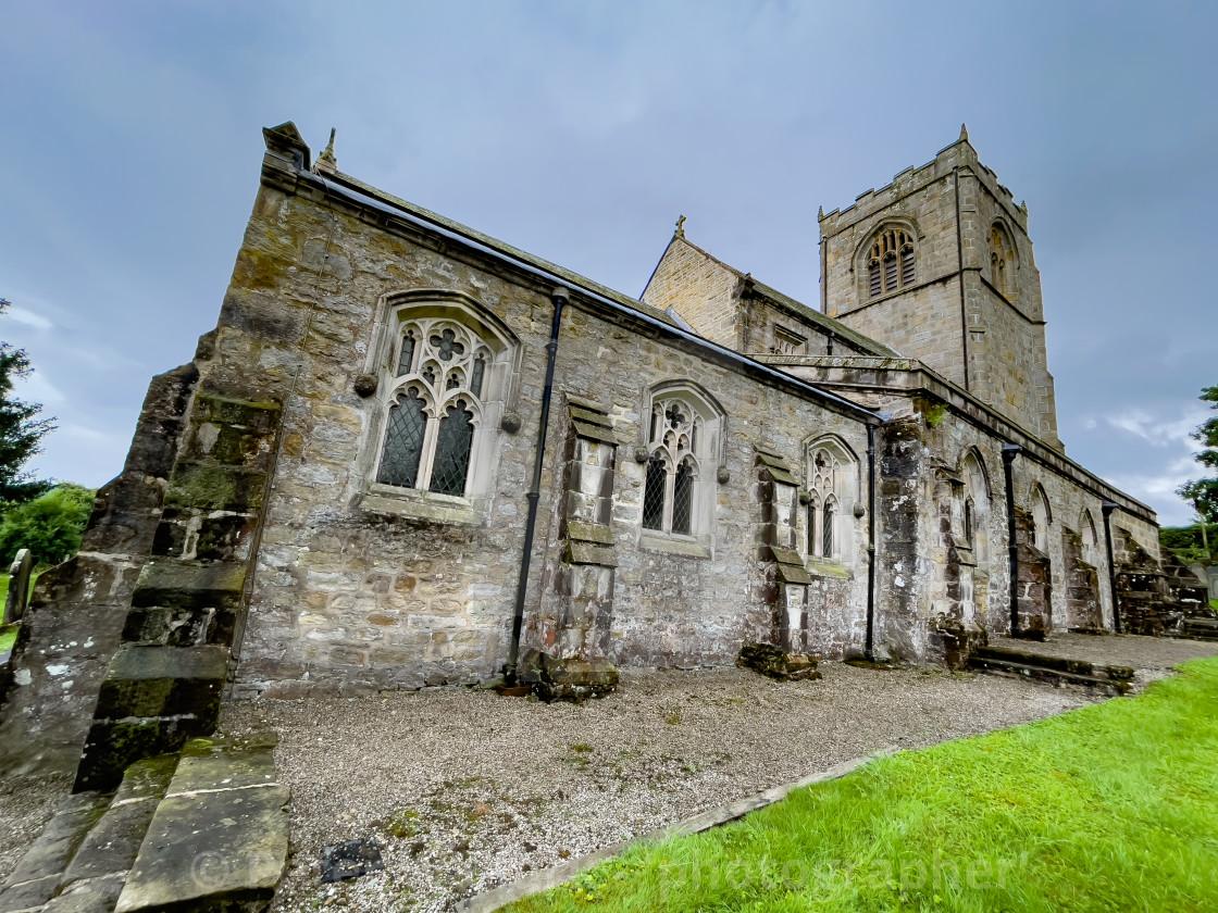 """Church of St Wilfrid"" stock image"