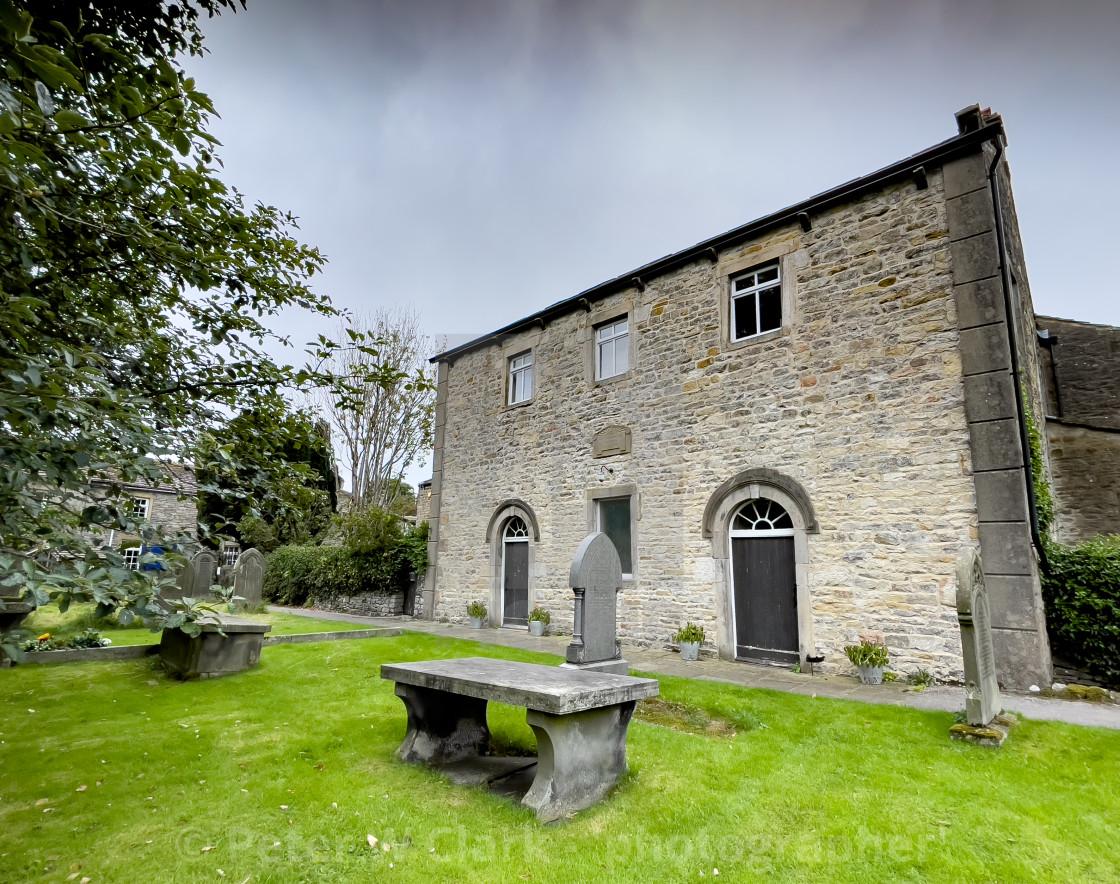"""Grassington Congregational Church, Yorkshire Dales"" stock image"