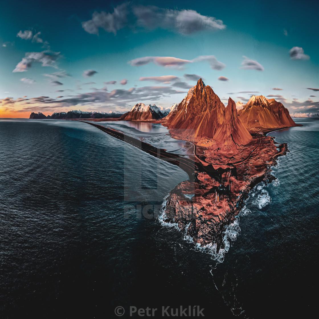 """""""East Iceland coast"""" stock image"""