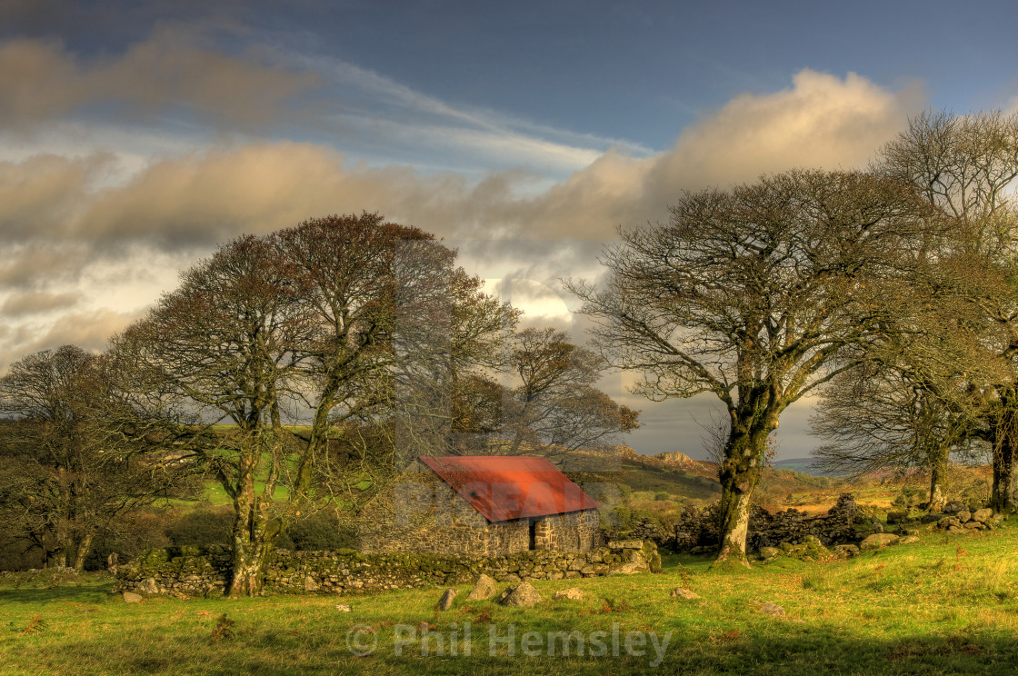 """Emsworthy Barn"" stock image"