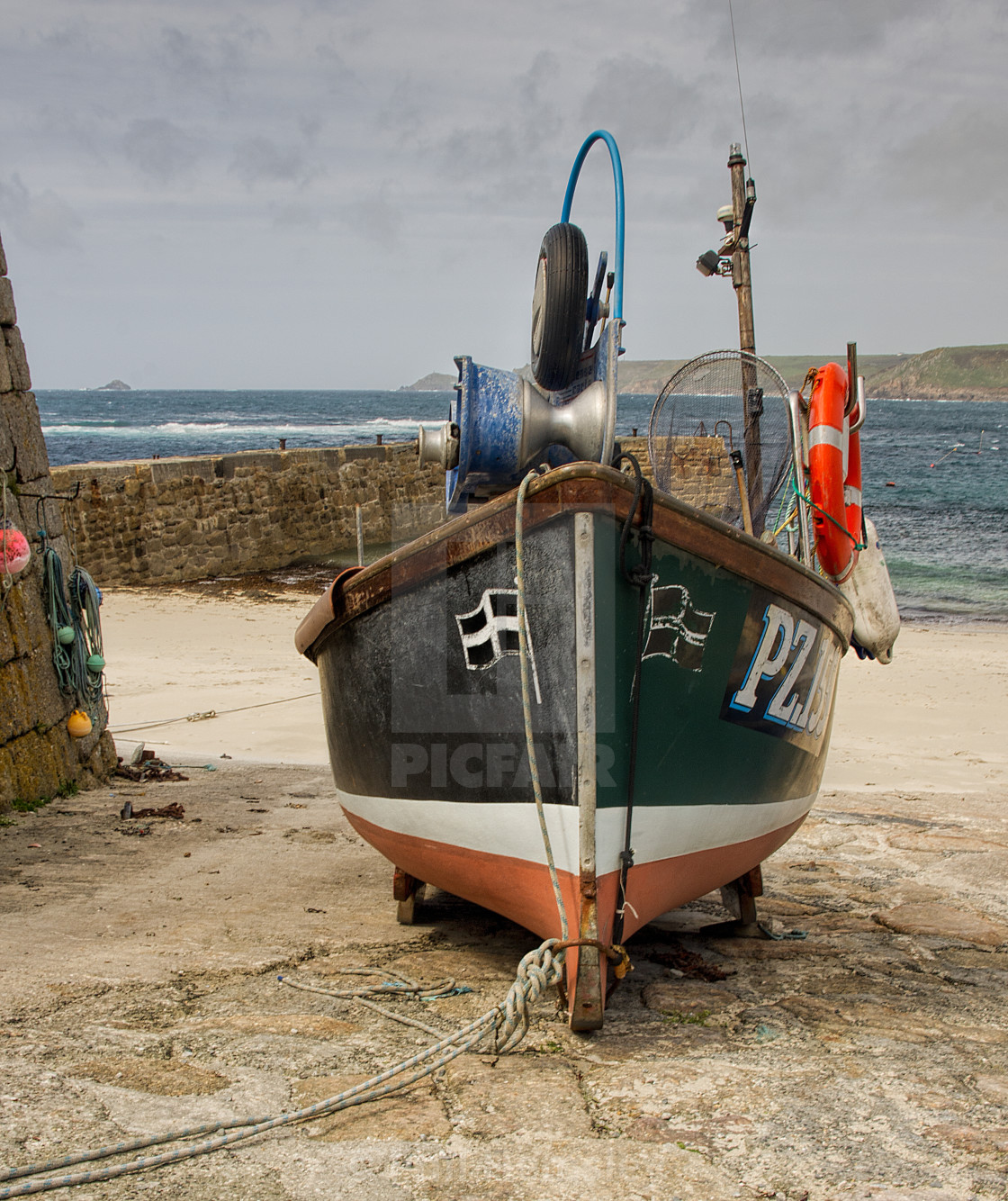 """Sennen Cove"" stock image"