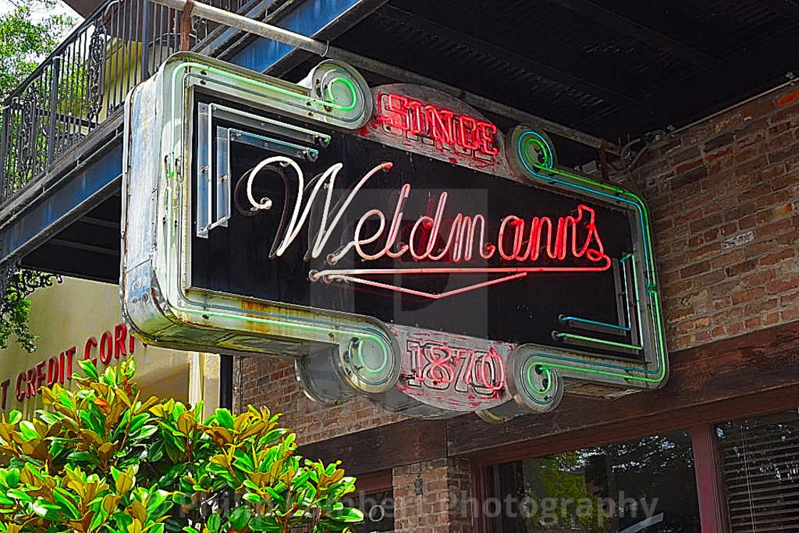 """""""Weidmann's Restaurant"""" stock image"""