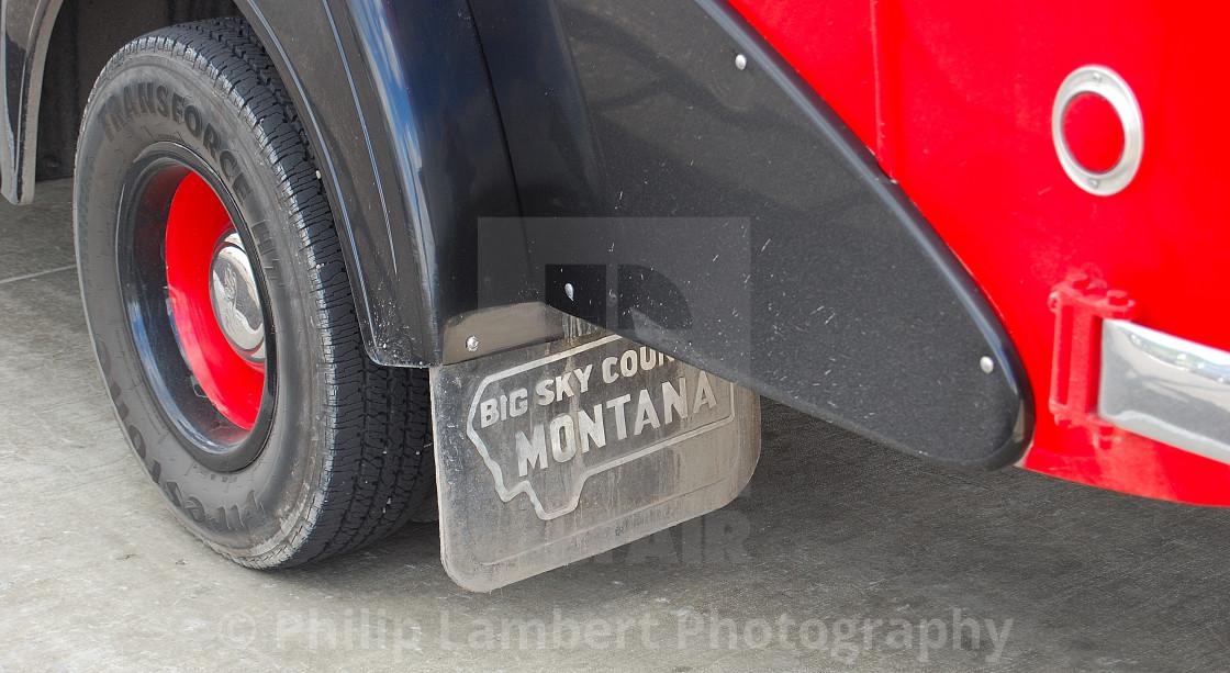 """Big Sky Country Montana"" stock image"