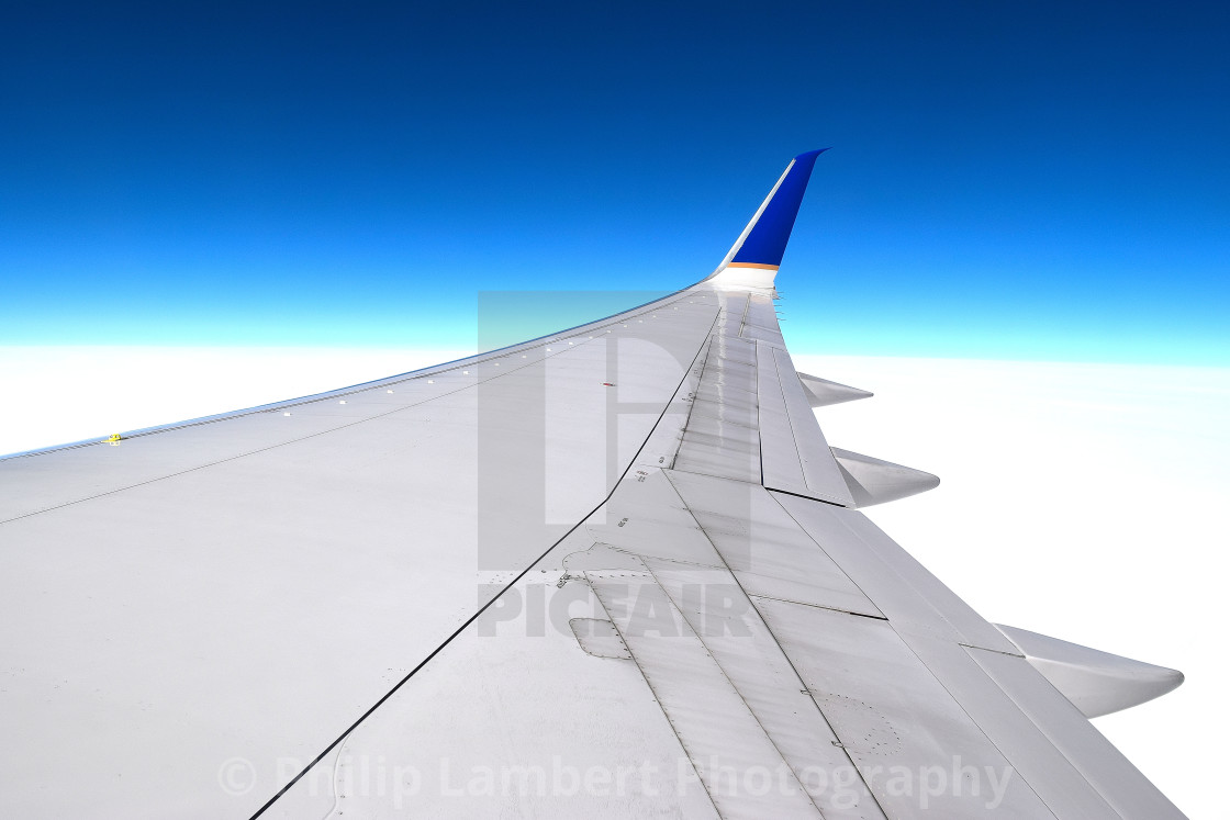 """""""On A Winglet"""" stock image"""