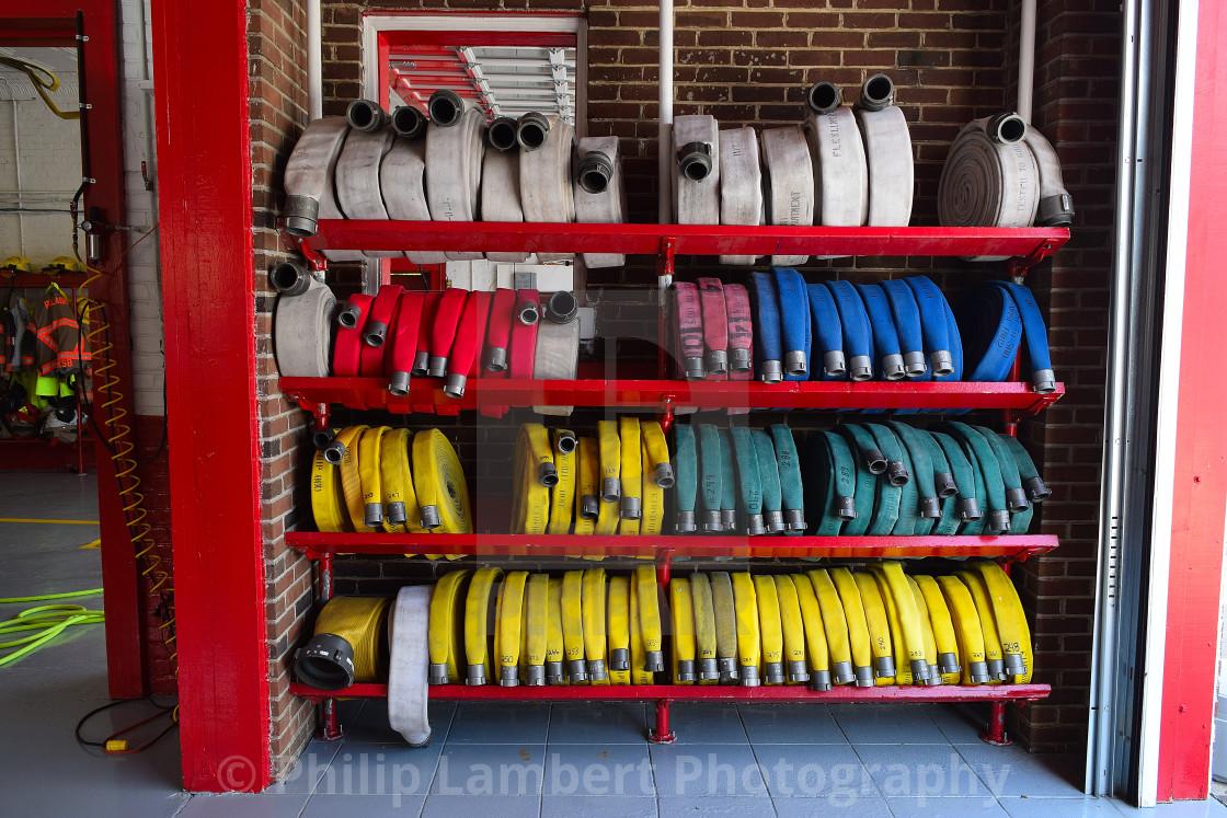 """Vintage Firehouse"" stock image"